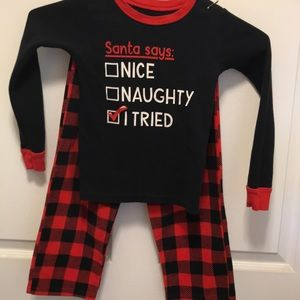 Carters Christmas pajamas